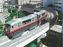 Monorail great for Okinawa sightseeing!