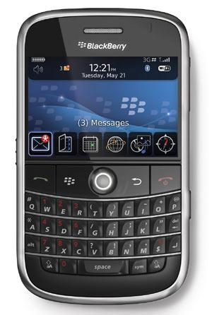 Blackberry Bold with Docomo in Japan!