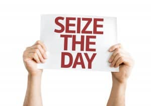 Seize The Day Sign