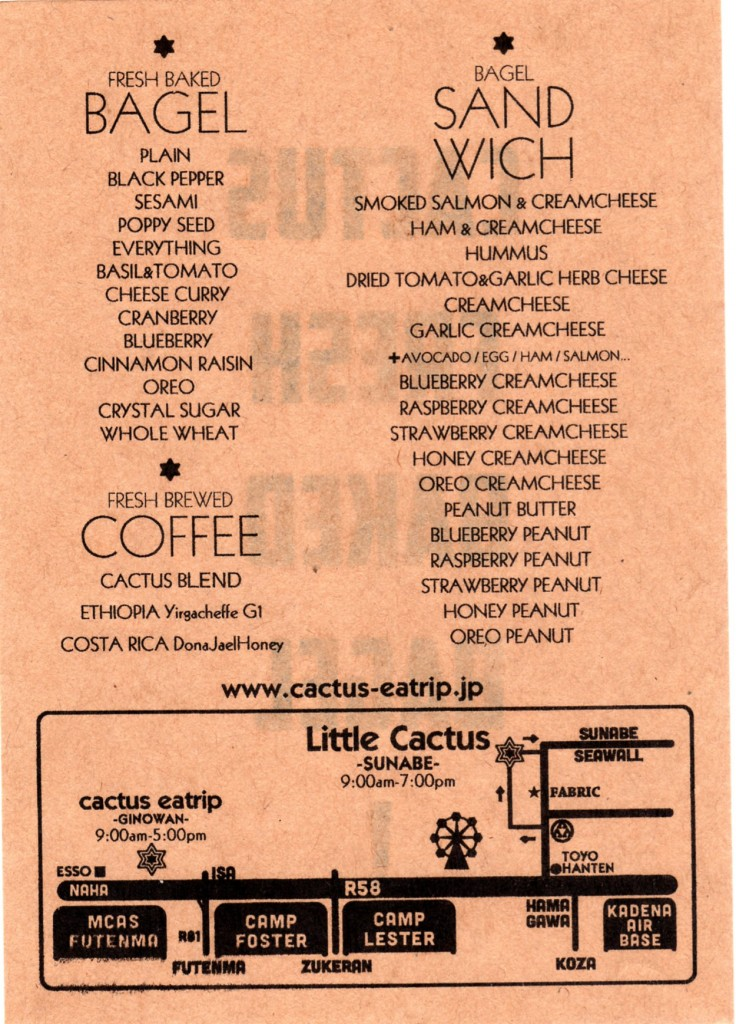 Little Cactus Sunabe Flyer