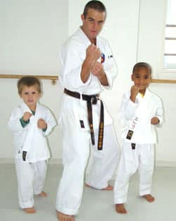 Karate at Santa Monica International School