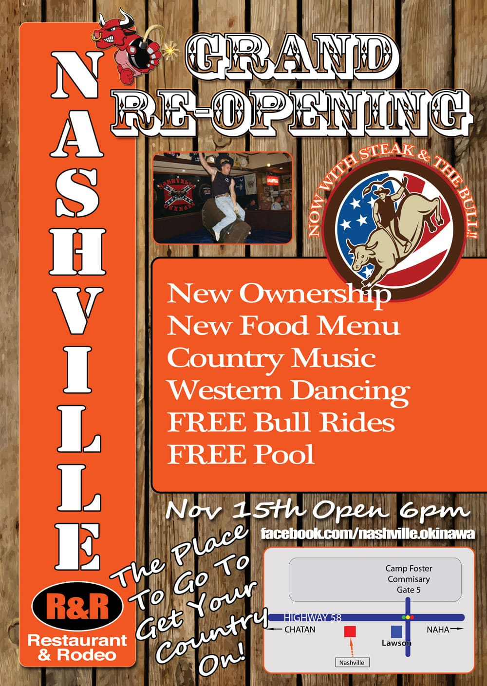 Nashville R&R Re-Opening Party