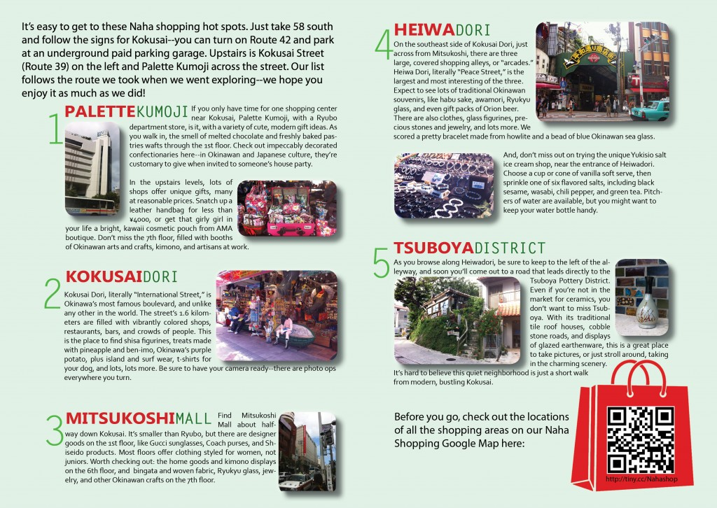 Top 5 Naha Shopping Spots Article