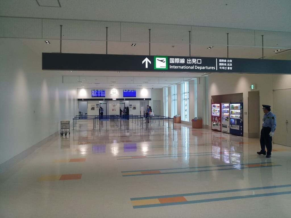 New Naha Airport International Terminal Open