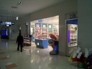 Tourist Shops in International Terminal of Naha Airport