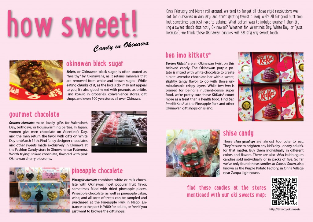 How Sweet! Candy in Okinawa Magazine Article