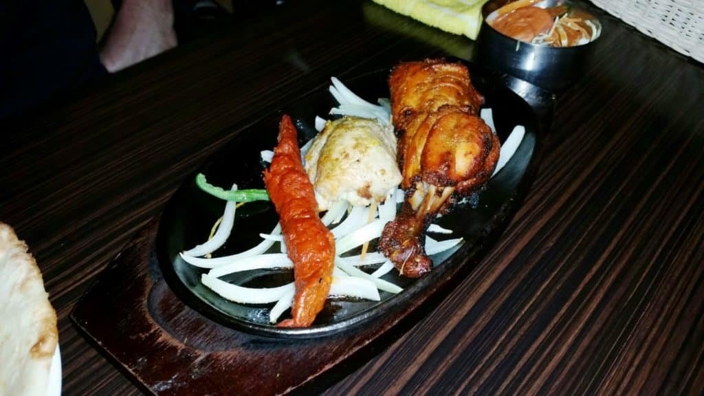 A-Danny Sizzler Plate with Grilled Meat