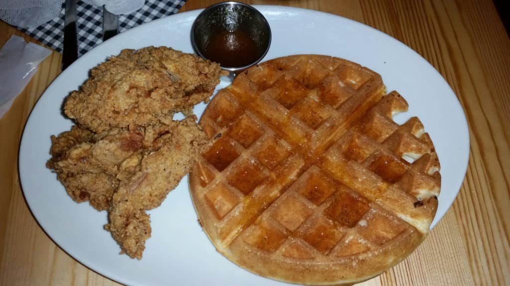 CC's Chicken & Waffles - Chicken & Waffles Set Plate