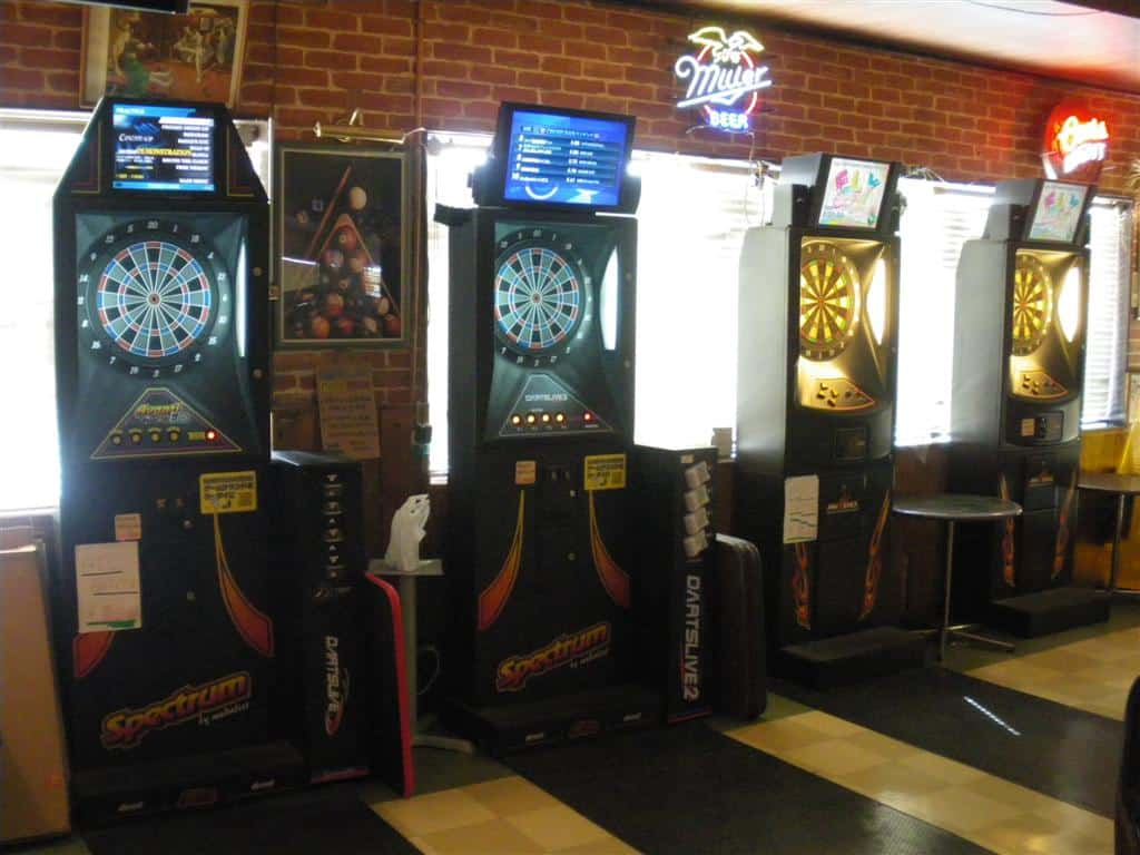 Darts Machines at Blue Ribbon