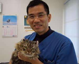 Dr Jahana at Noah Animal Hospital