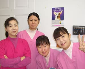 Staff of Noah Animal Hospital