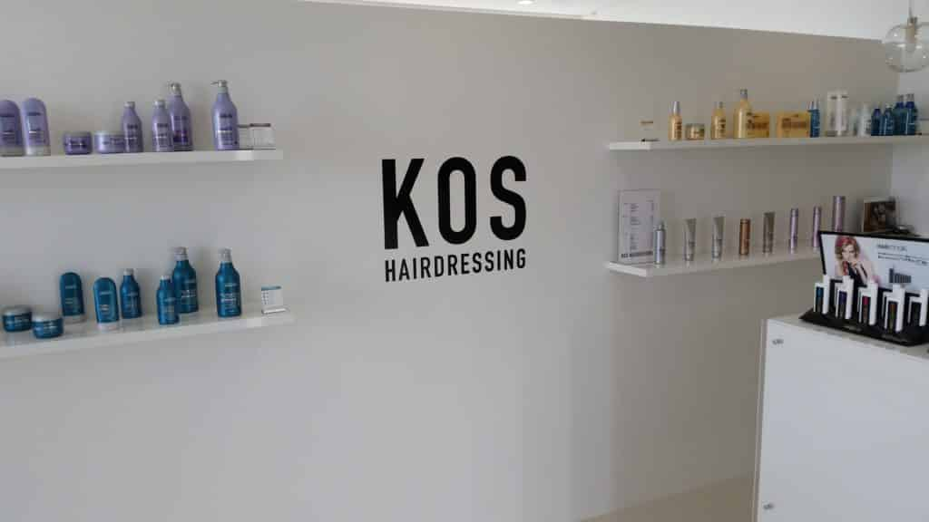 KOS Hairdressing Reception Area