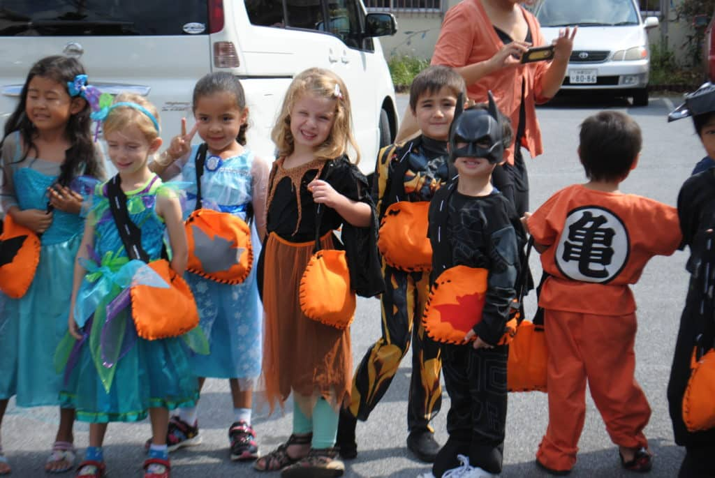 Sunshine Montessori Children in Halloween Costume