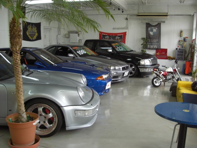 Inside showroom of Ride Over
