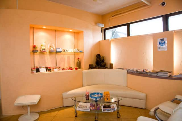 Seating & Reception Area of Master Sun Tanning Salon