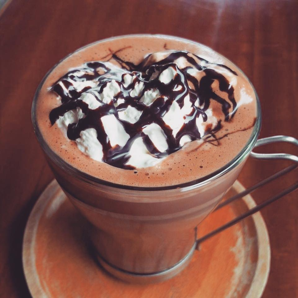 Hearth Cafe Hot Chocolate