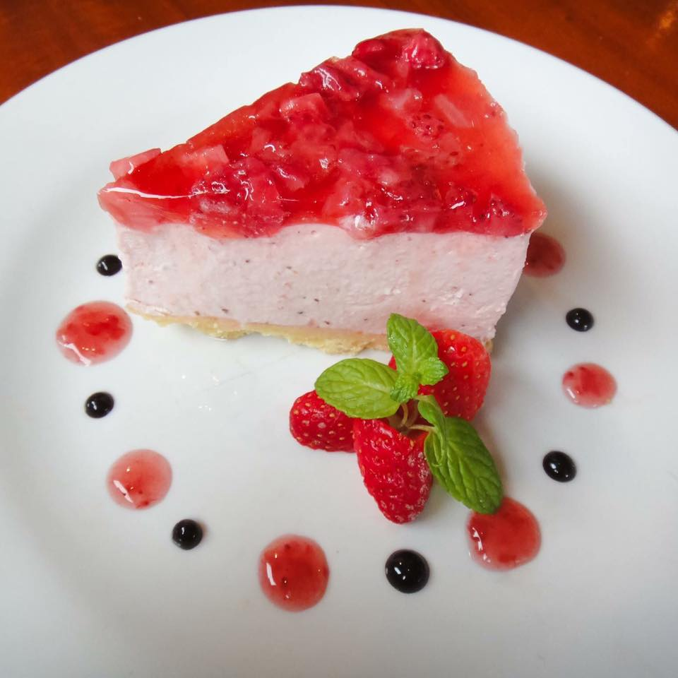 Hearth Cafe Cheesecake