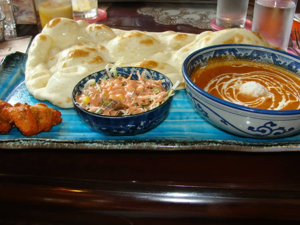 Taj Naan Curry Set