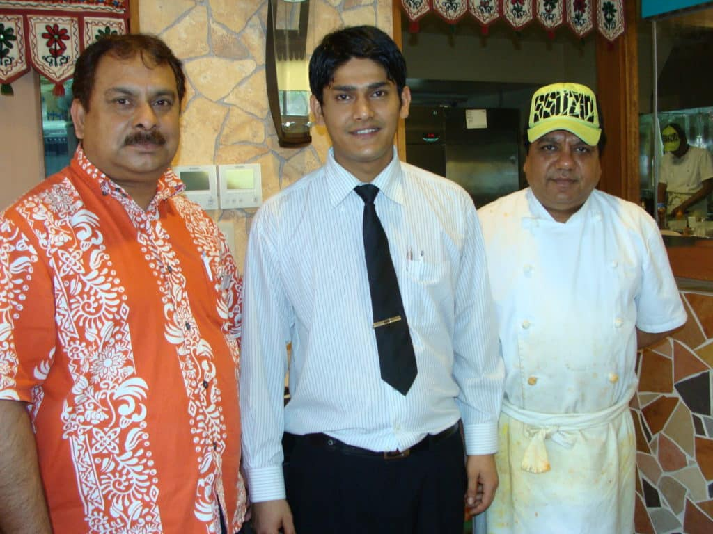 Taj Indian Restaurant Staff