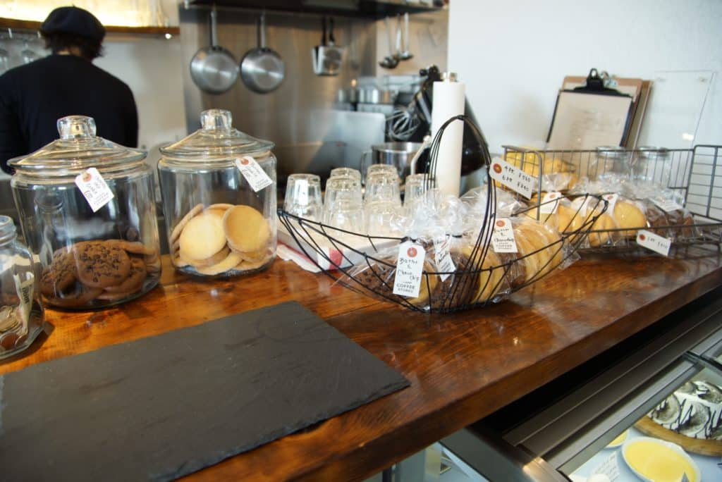 Kramp Coffee Counter with Cookies