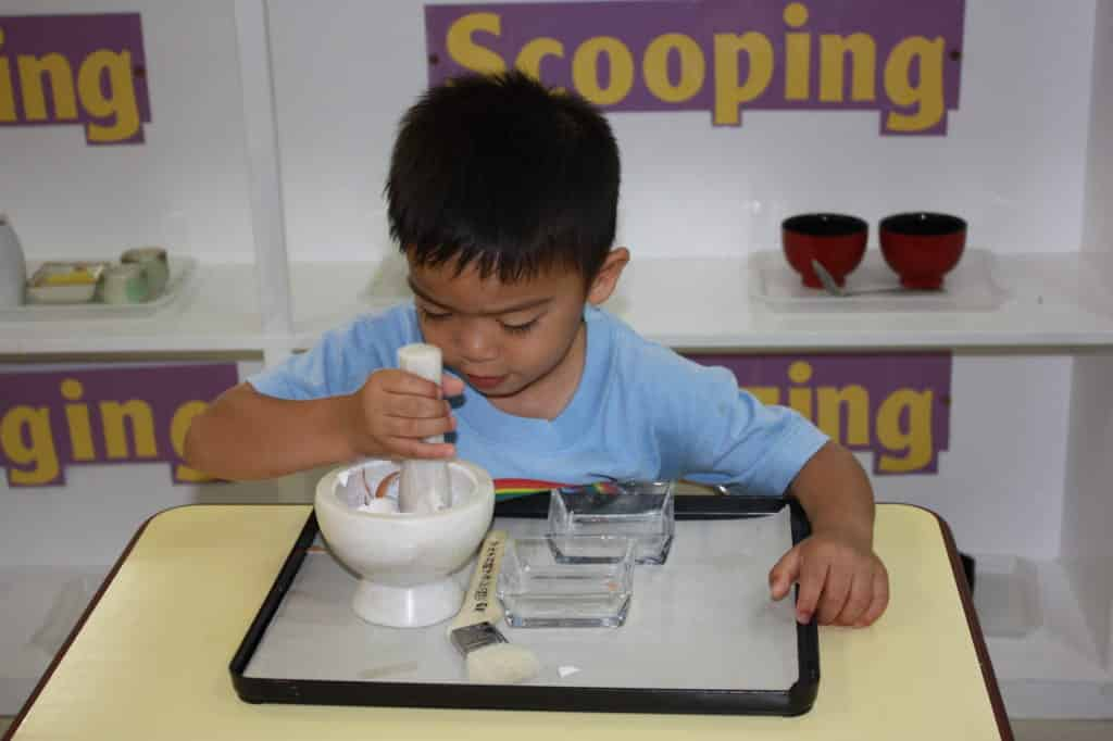 Everyday Living Class at Rainbow Montessori
