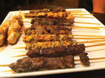 360 Grille Assorted Meat Skewers