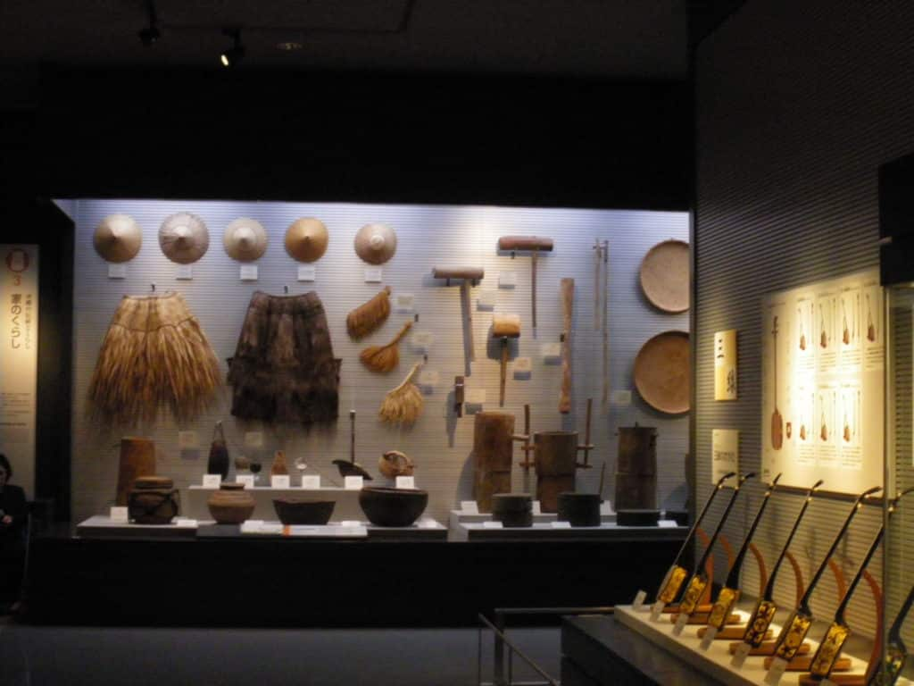 Okinawa Artefacts at Okinawa Prefectural Museum