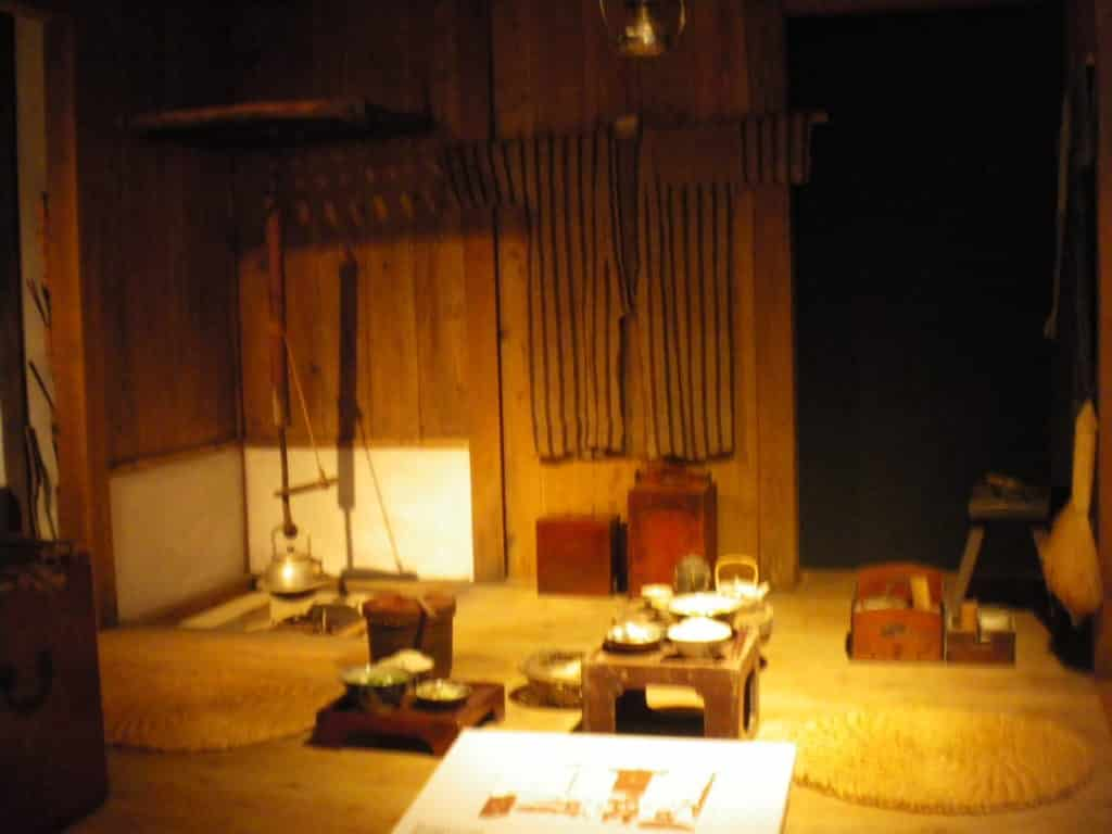 Traditional Rykyu Kingdom Home at Okinawa Prefectural Museum