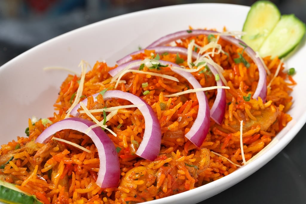 Indian Rice with Onion