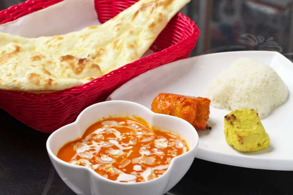 Tandoori Chicken Curry Set