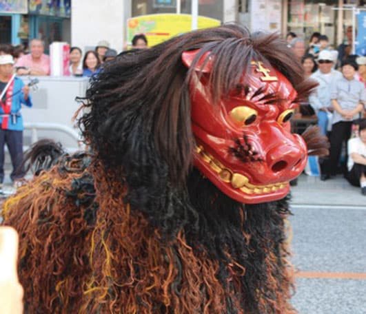 Shisa on Kokusai Dori