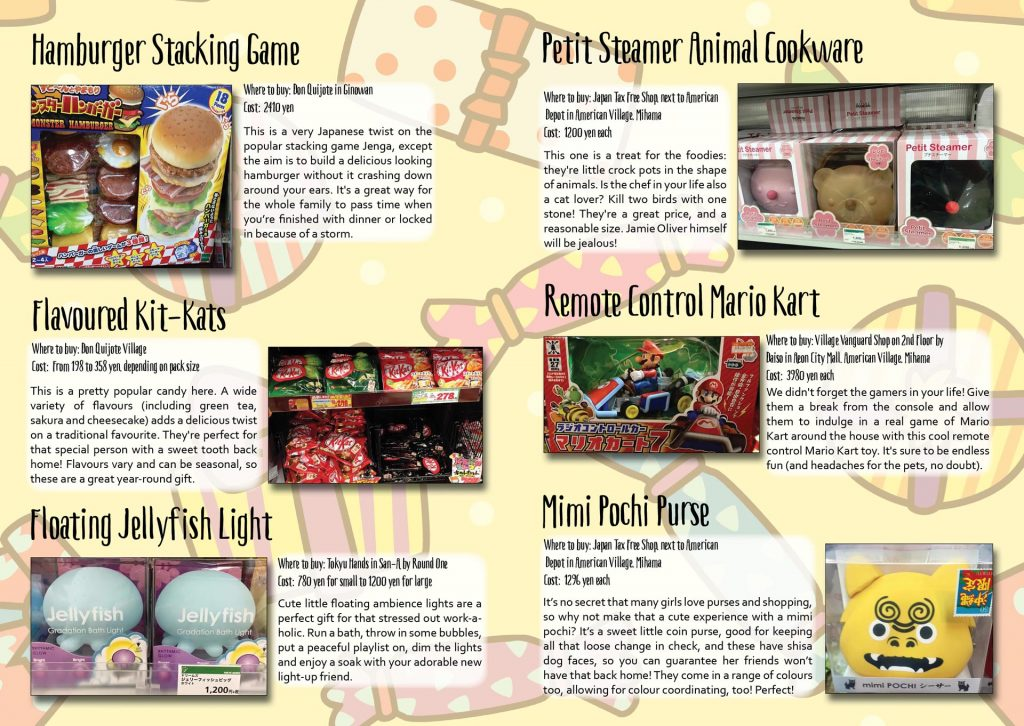 Quirky Japanese Gifts Article