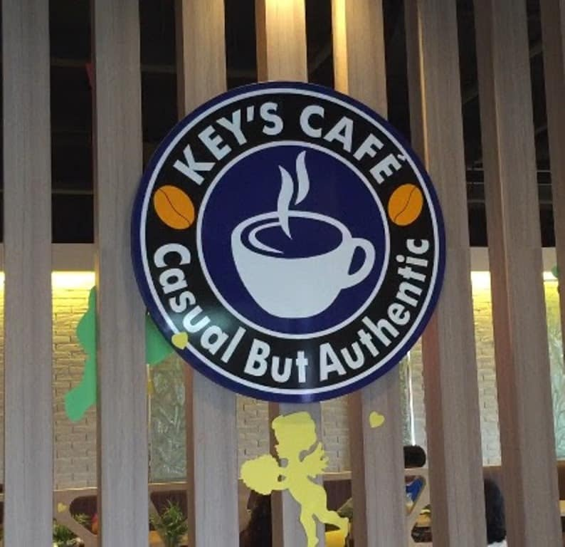 Key's Cafe Sign