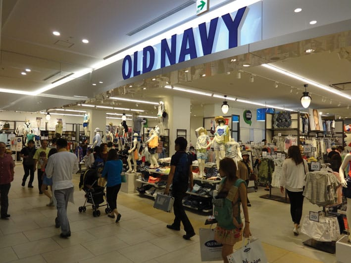 Old Navy in AEON Mall