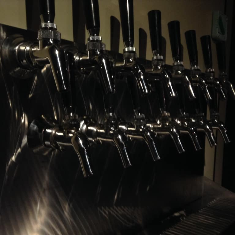Torii Taproom Beer Pumps
