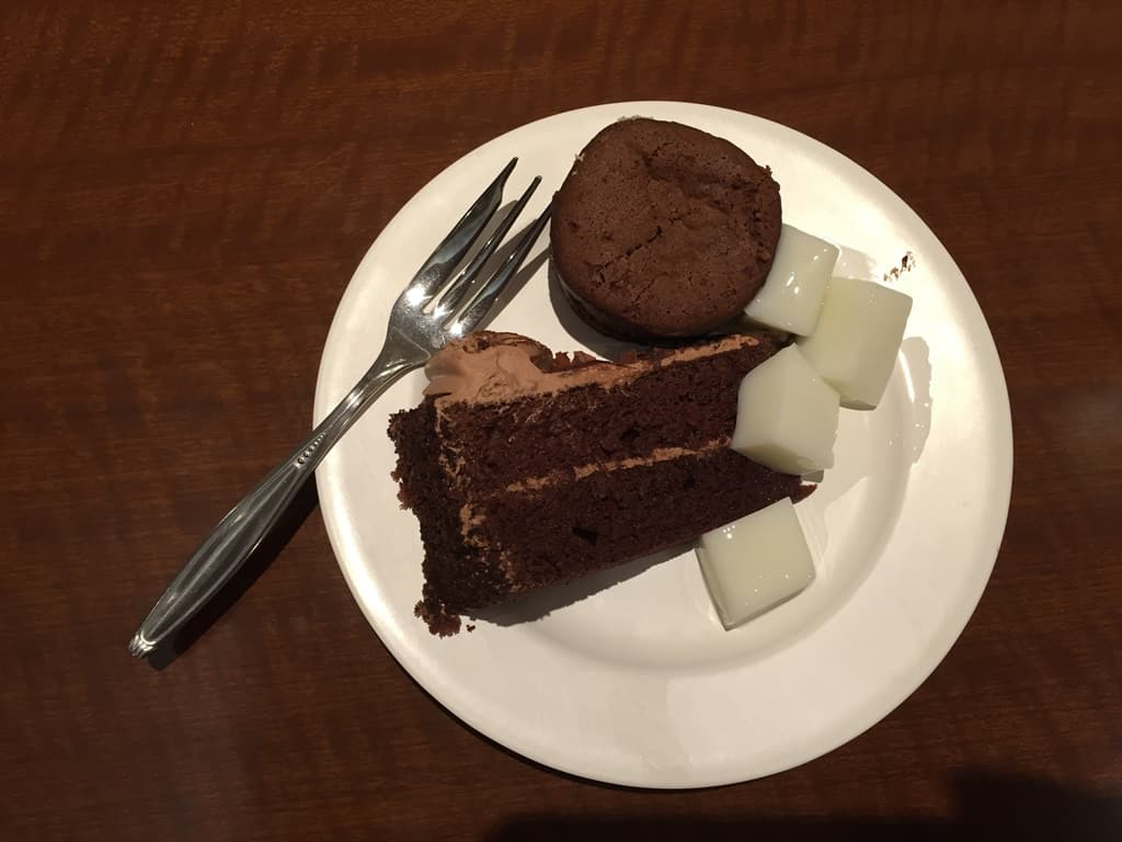 Chocolate cake from Jimmy's
