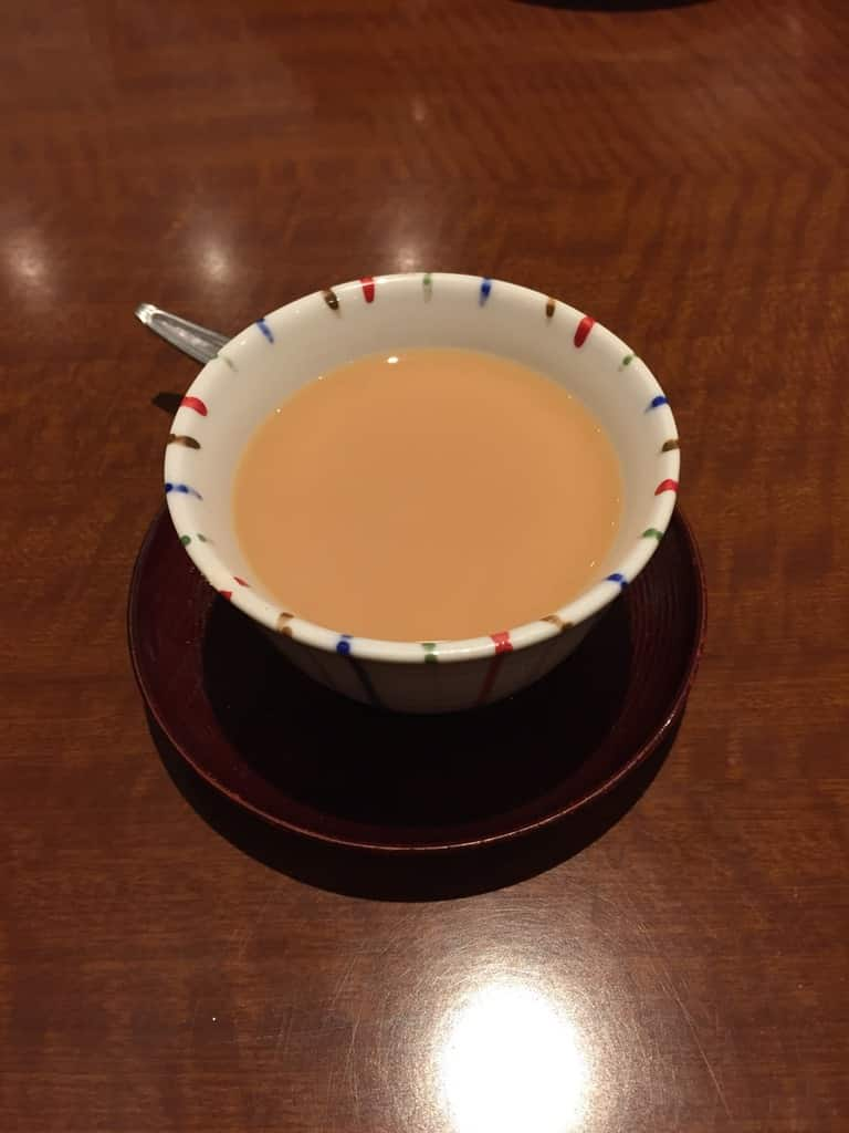 Tea in Cup at Jimmy's