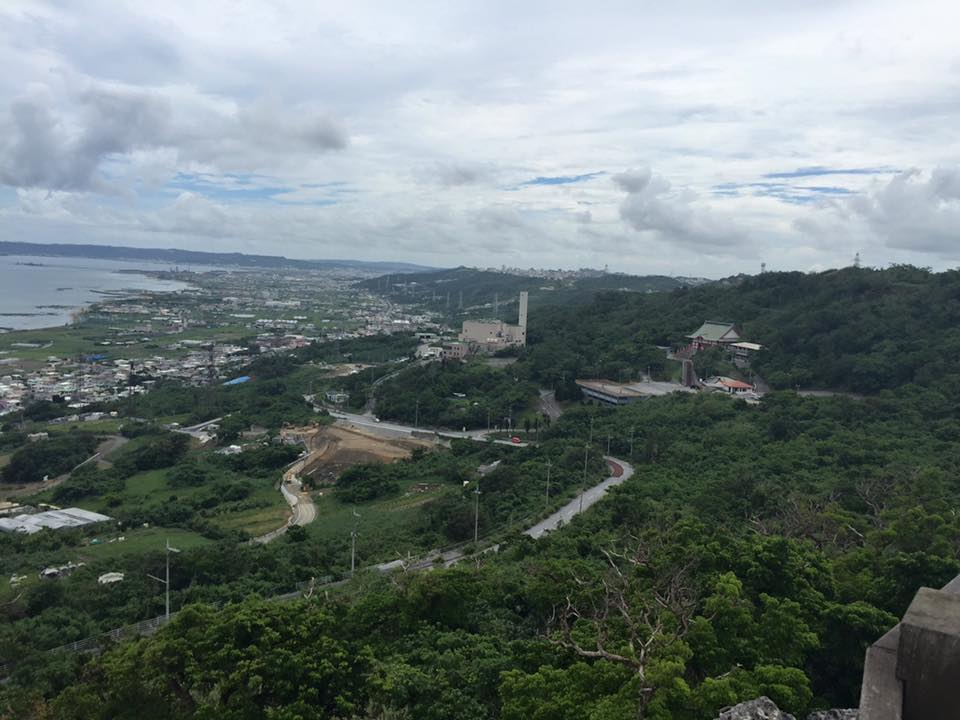 View from top of Nakagusuku Castle
