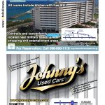 Total Okinawa Magazine Feb & Mar 2017 - Moon Ocean & Johnny's Used Cars Adverts