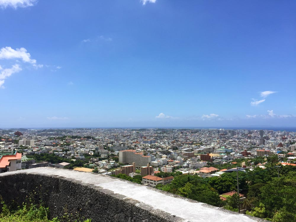 View from Shurijo Castle