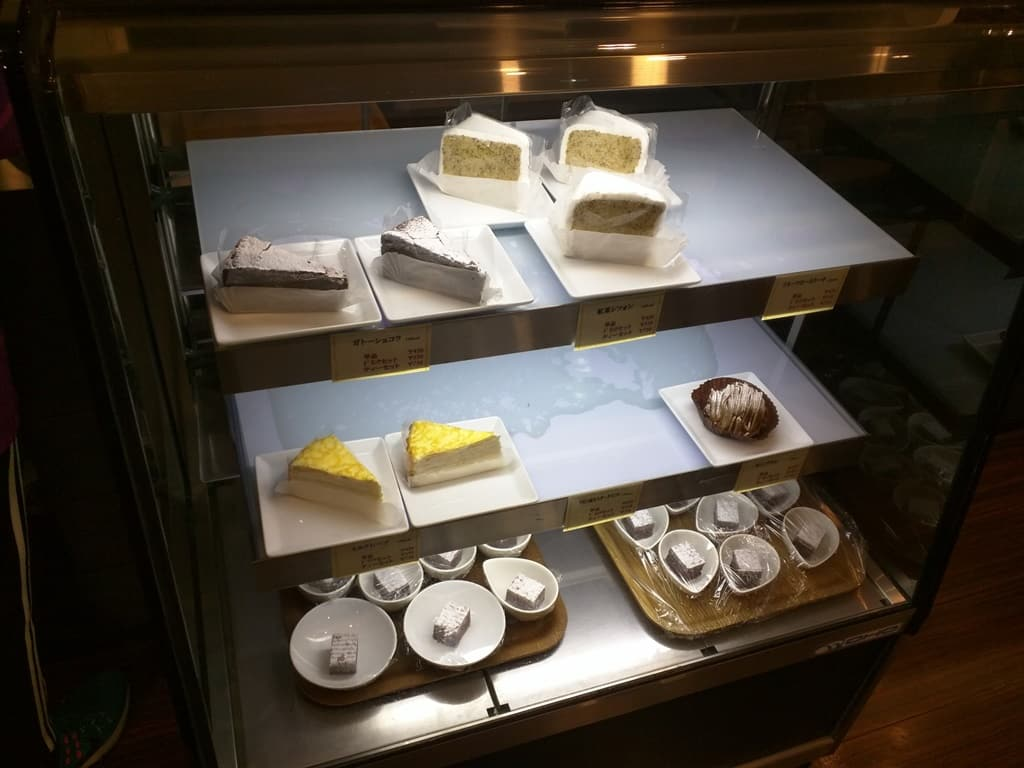 Cakes in Fridge At Soup Soup