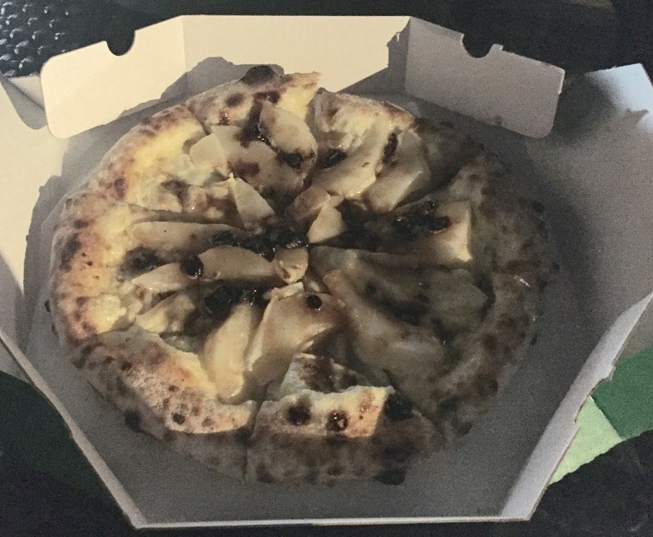 Banana & Caramel Pizza