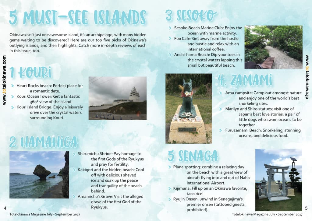 5 Must See Okinawa Islands
