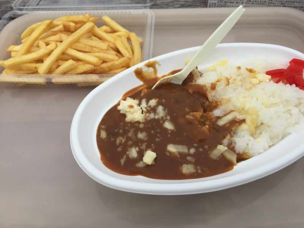 Curry & French Fries