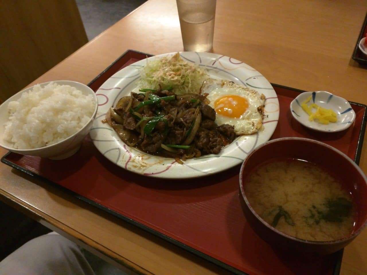 Yakiniku Set with Eggs