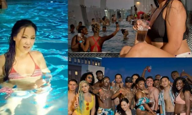 Rooftop Pool Party on October 20th