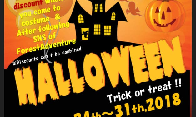 Special Forest Adventure Halloween Discount!