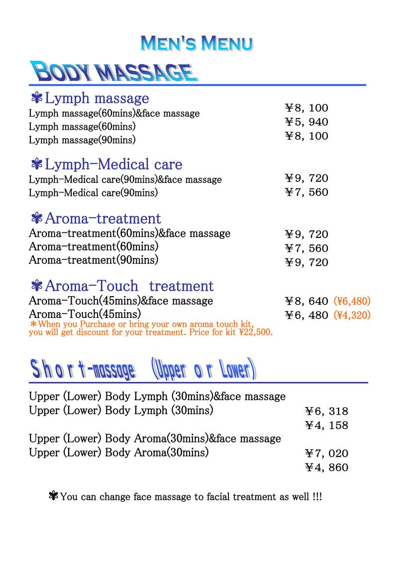 ThaiMed Men's Massage