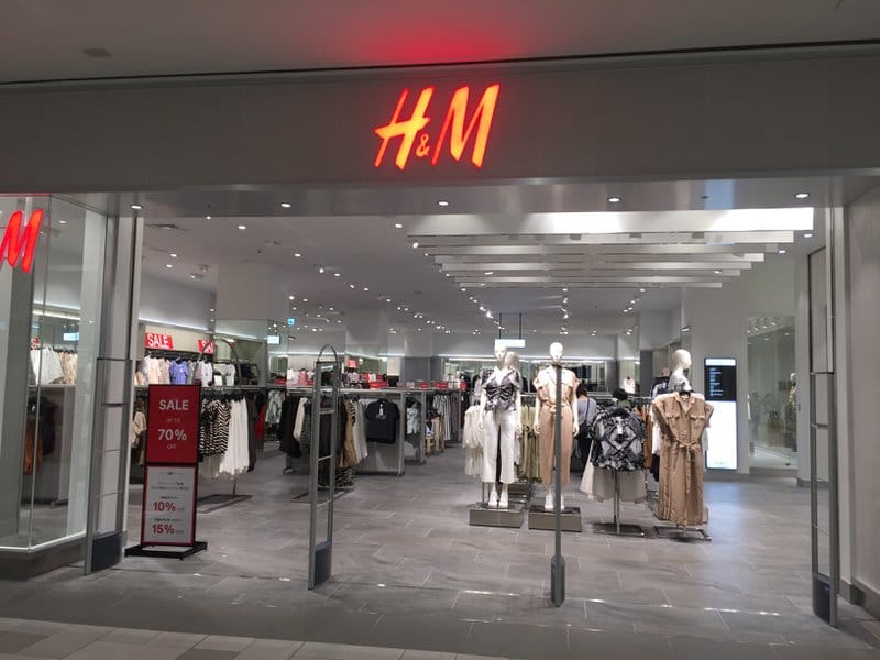 H&M at Parco
