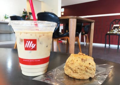 Illy Coffee & Scone